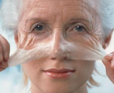 Anti facial treatment wrinkle