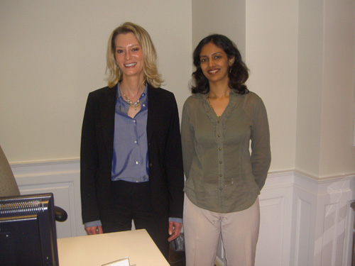 Dr. Rinky Kapoor with Dr. Arielle Kauvar, Clinical Associate Professor at New York University Medical Center