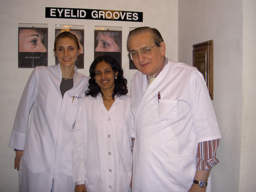 Dr. Rinky Kapoor with Dr. Jay Barnett and Dr. Channing Barnett