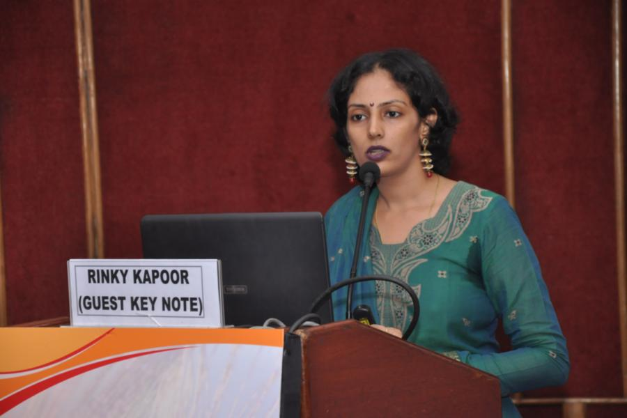Dr. Rinky Kapoor,the guest key note