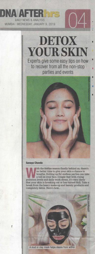 Detox your skin - DNA